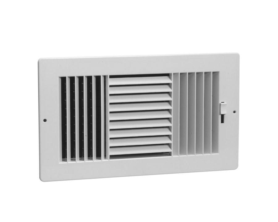 3-Way Rezzin Sidewall / Ceiling Register