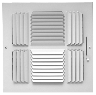 504 Series Four Way with Multi-Shutter Damper