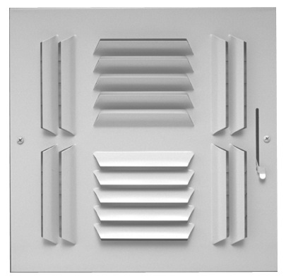 604 Series Four Way with Multi-Shutter Damper