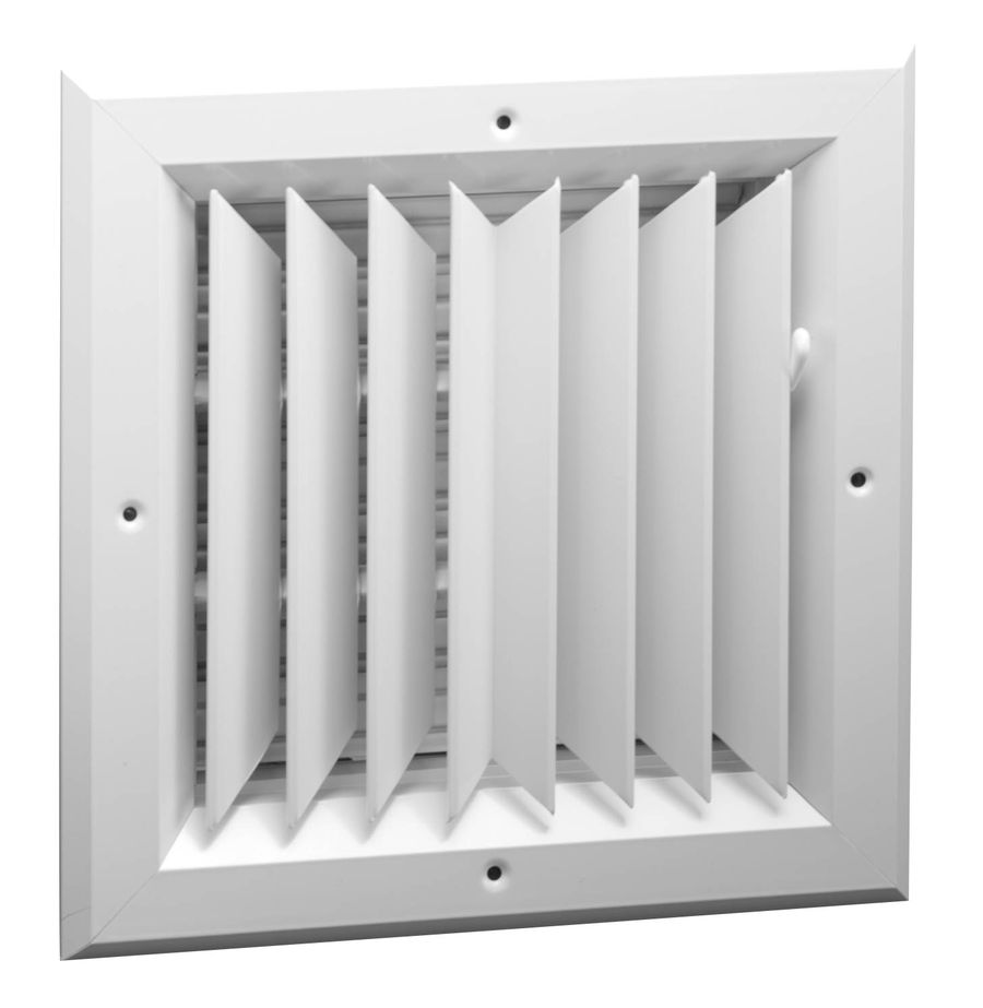 A1002 Series Two Way, Square Ceiling Diffuser
