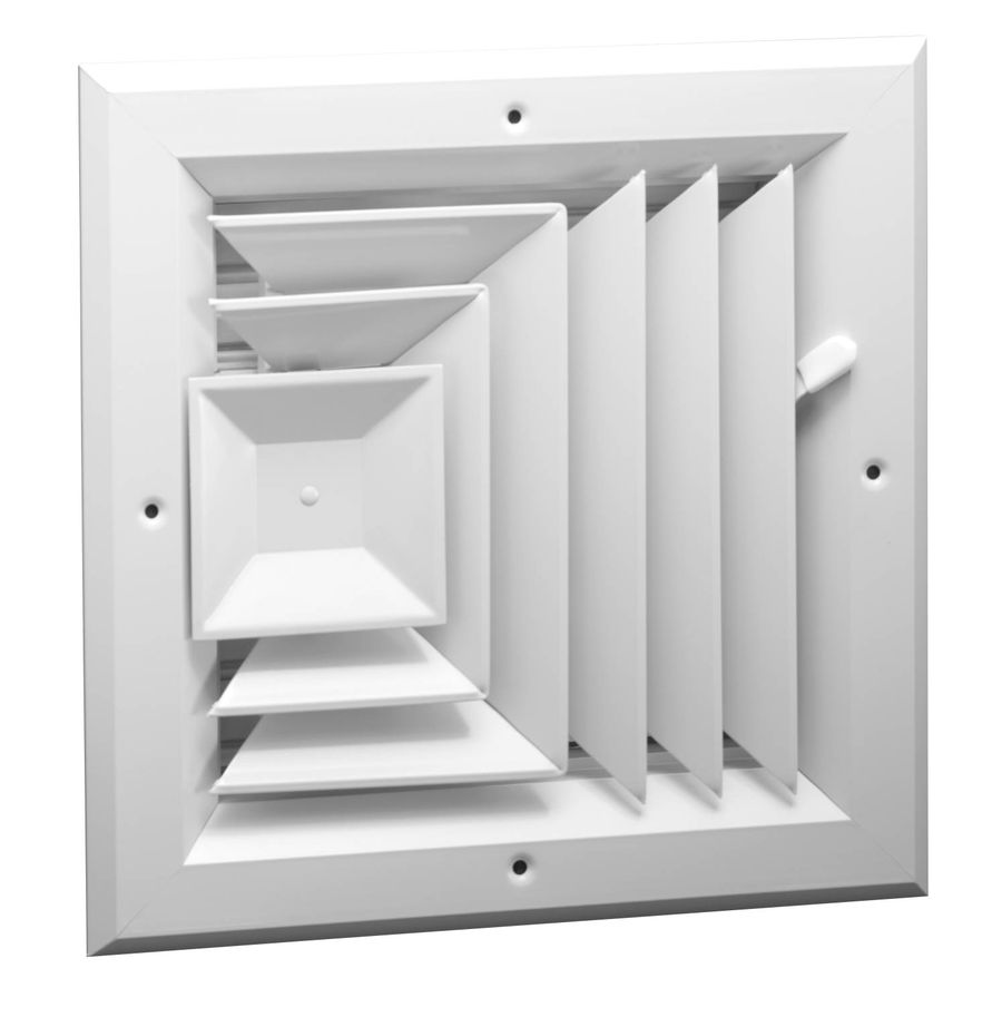 A1003 Series Three Way, Square Ceiling Diffuser